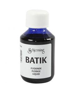 Batikfarve, brilliant blå, 100 ml/ 1 fl.