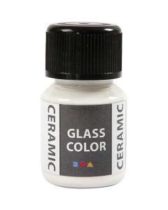 Glass Ceramic, hvid, 35 ml/ 1 fl.