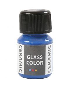 Glass Ceramic, brilliant blå, 35 ml/ 1 fl.