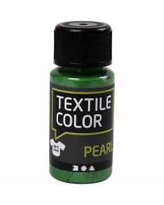 Textile Color, perlemor, brilliantgrøn, 50 ml/ 1 fl.