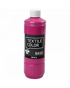 Textile Color, pink, 500 ml/ 1 fl.