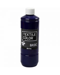 Textile Color, brilliant blå, 500 ml/ 1 fl.
