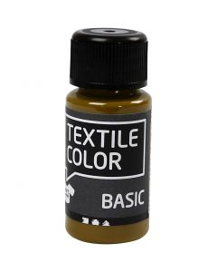 Textile Color, olivenbrun, 50 ml/ 1 fl.