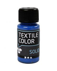 Textile Solid, dækkende, brilliant blå, 50 ml/ 1 fl.
