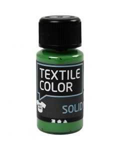 Textile Solid, dækkende, brilliantgrøn, 50 ml/ 1 fl.