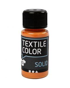 Textile Solid, dækkende, orange, 50 ml/ 1 fl.