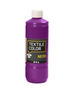 Textile Color, neon lilla, 500 ml/ 1 fl.