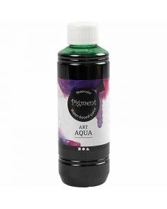Flydende Akvarelmaling, grøn, 250 ml/ 1 fl.