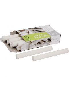 Tavlekridt, L: 8 cm, diam. 10 mm, hvid, 10 stk./ 1 pk.