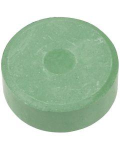 Vandfarve, H: 16 mm, diam. 44 mm, mørk grøn, 6 stk./ 1 pk.