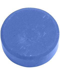 Vandfarve, H: 19 mm, diam. 57 mm, blå, 6 stk./ 1 pk.