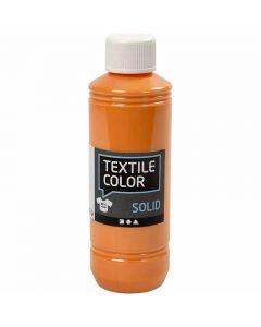 Textile Solid, dækkende, orange, 250 ml/ 1 fl.