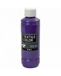 Textile Solid, dækkende, lilla, 250 ml/ 1 fl.
