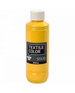Textile Solid, dækkende, gul, 250 ml/ 1 fl.