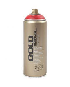 Spraymaling, rød, 400 ml/ 1 ds.