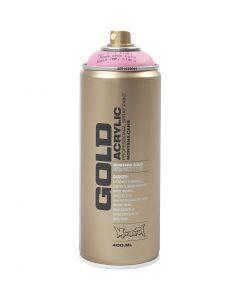 Spraymaling, lys pink, 400 ml/ 1 ds.