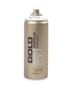 Spraymaling, hvid, 400 ml/ 1 ds.