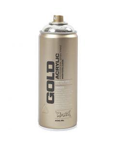 Spraymaling, sølv, 400 ml/ 1 ds.