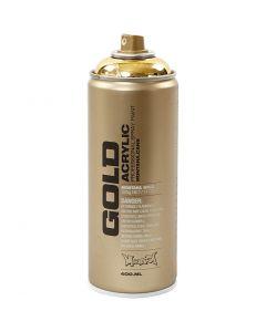 Spraymaling, guld, 400 ml/ 1 ds.