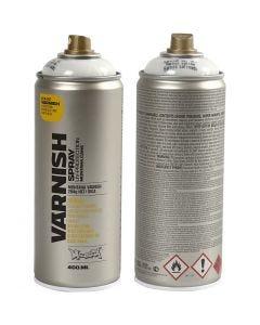 Spraylak, halvblank, 400 ml/ 1 ds.