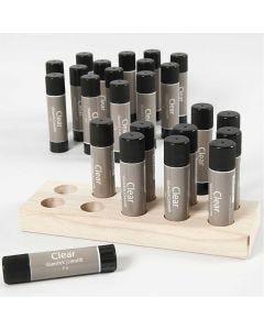 Clear limstift, 24 stk./ 1 pk., 21 g