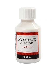 Decoupagelak, mat, 100 ml/ 1 fl.