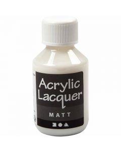 Akryllak, mat, 100 ml/ 1 fl.