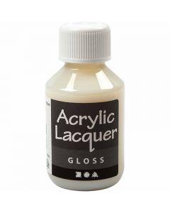Akryllak, blank, 100 ml/ 1 fl.