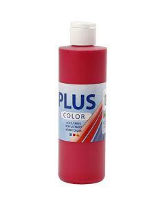Plus Color hobbymaling, berry red, 250 ml/ 1 fl.