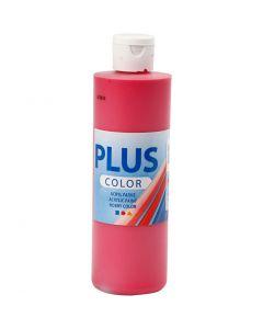 Plus Color hobbymaling, primær rød, 250 ml/ 1 fl.