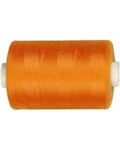 Sytråd, L: 1000 yards, orange, 915 m/ 1 rl.