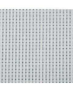 Aidastof, B: 130 cm, 24 tern pr. 10 cm, hvid, 3 m/ 1 stk.