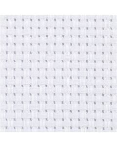 Aidastof, B: 150 cm, 35 tern pr. 10 cm, hvid, 3 m/ 1 stk.