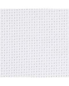 Aidastof, B: 150 cm, 70 tern pr. 10 cm, hvid, 3 m/ 1 stk.