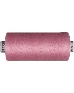 Sytråd, lyserød, 1000 m/ 1 rl.