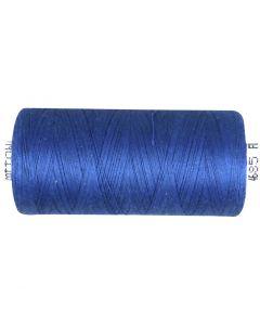 Sytråd, mellem blå, 1000 m/ 1 rl.