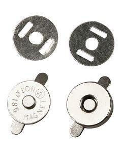 Magnetlås, diam. 18 mm, 4 stk./ 1 pk.