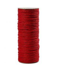 Papirgarn, tykkelse 1,8 mm, rød, 470 m/ 1 rl.