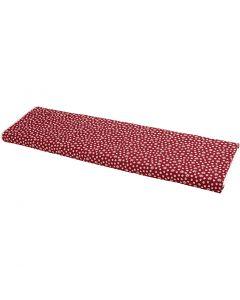 Stof, B: 145 cm, 140 g, rød, 10 m/ 1 rl.