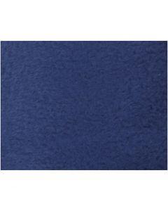 Fleece, L: 125 cm, B: 150 cm, 200 g, blå, 1 stk.