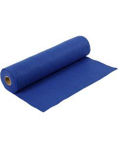 Hobbyfilt, B: 45 cm, tykkelse 1,5 mm, 180-200 g, blå, 5 m/ 1 rl.