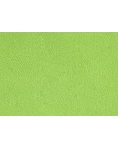Hobbyfilt, A4, 210x297 mm, tykkelse 1,5-2 mm, lys grøn, 10 ark/ 1 pk.