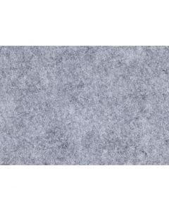 Hobbyfilt, A4, 210x297 mm, tykkelse 1,5-2 mm, meleret, grå, 10 ark/ 1 pk.