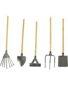 Haveredskaber, L: 11 cm, 5 stk./ 1 pk.