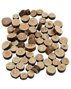 Træmix, diam. 10-15 mm, tykkelse 5 mm, 230 g/ 1 pk.