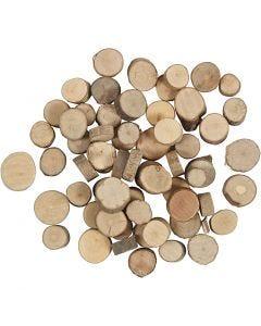 Træskiver, 25 g/ 1 pk.