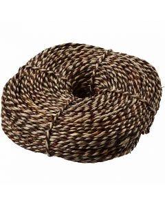 Søgræssnor, B: 3,5-4 mm, brun, 500 g/ 1 bdt.