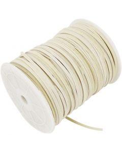 Imiteret ruskind, tykkelse 3 mm, beige, 100 m/ 1 rl.