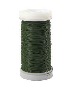 Myrtetråd, tykkelse 0,31 mm, 100 g, grøn, 160 m/ 1 rl.