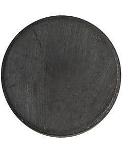 Magnet, diam. 14,5 mm, tykkelse 3 mm, 50 stk./ 1 pk.